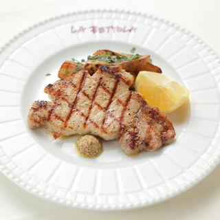 豚肉のグリル(ラ・ベットラ・ダ・オチアイ ナゴヤ (LA BETTOLA da Ochiai NAGOYA))