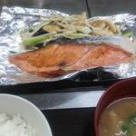 鮭の塩焼きランチ(やよい)
