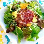 京野菜のタコライス