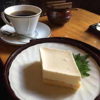 ケーキセット(珈琲道場 侍)