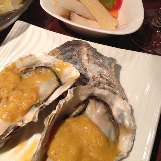 牡蠣のオーブン焼き(牡蠣屋バル )