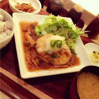 豆腐のハンバーグ(みどりのキッチン )