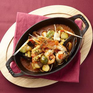 鮮魚と野菜のトマト煮込み(ボーン グランデ アリア (Buon Grande ARIA))