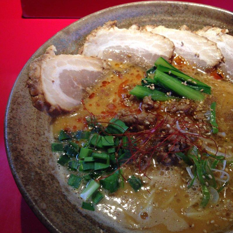 叉焼担々麺