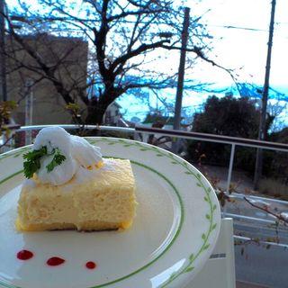 「海辺の途中」 レモンケーキ(海辺の途中 )