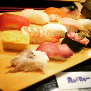 特盛にぎり(味噌汁茶碗蒸付)(魚がし日本一 浜松町店 (ウオガシニホンイチ))