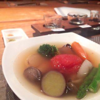 季節の野菜おでん(小田原おでん本店 )