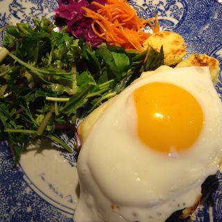 朝食プレート(クロックムッシュ)(15℃)
