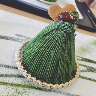 抹茶モンブラン(季の音 (キノネ))