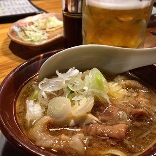 もつ煮豆腐(テング酒場 川越クレアモール店)