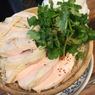 海南チキンライス(中国料理 六徳 恒河沙 (チュウゴクリョウリリットクゴウガシャ))