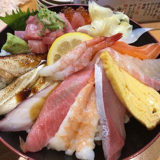 えびす特上海鮮丼(魚河岸のすし えびす  三宮東店 )