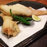 穴子の一本天麩羅(美食米門品川港南 Wine&Grill )