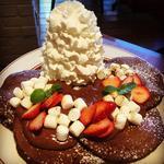 チョコレートパンケーキ(バレンタイン限定)