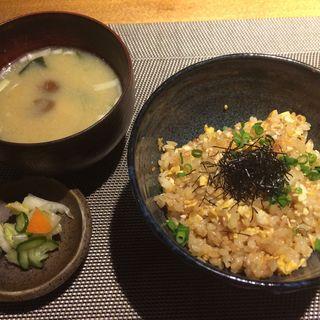 ガーリックライス(新宿 鉄板焼 ORCA (オルカ))