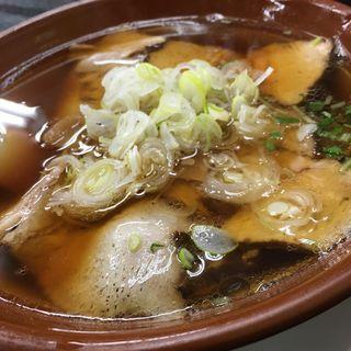 醤油チャーシュー麺(とらや)