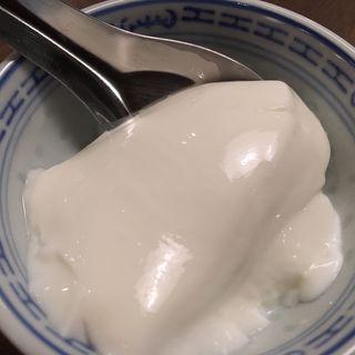 杏仁豆腐(中国料理MASUKI)