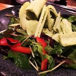アボカドアイスのせサラダ