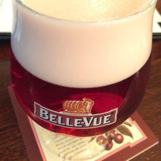 Belle-Vue Kriek(ベルジアンビア・カフェ アントワープ セントラル (Belgian Beer CafeAntwerp Central))