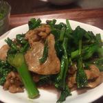 豚肉と野菜の黒胡椒炒め