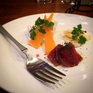 チーズ盛り合わせ(ristorante match&832)