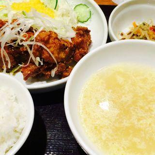 ヤンニョムチキン定食(ぽど 丸の内 )