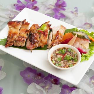 鶏肉のグリル 坦々ソース(バンコクキッチン有楽町店)