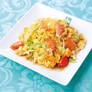 野菜と卵のスパイシー炒め(バンコクキッチン有楽町店)