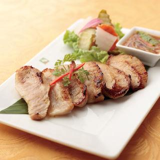 豚肉のグリル スパイシーソース(バンコクキッチン有楽町店)