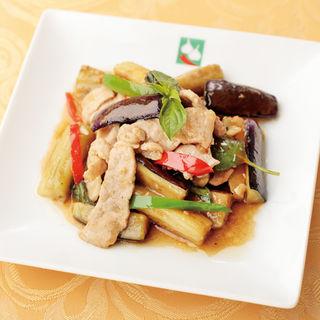 豚肉と茄子のグリル(バンコクキッチン有楽町店)