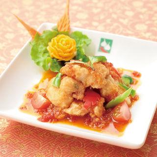 白身のフリット トマトソース(バンコクキッチン有楽町店)