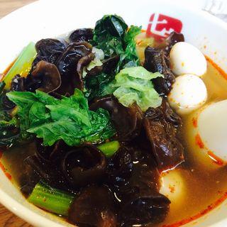 スープ春雨(七宝 麻辣湯 赤坂店 (チーパオ マーラータン))