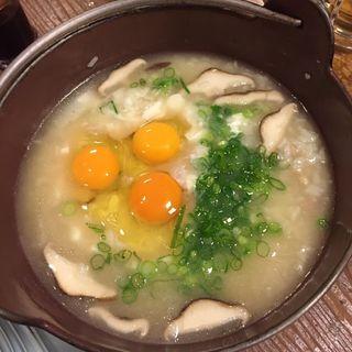 とり雑炊(のんちゃん (本店))