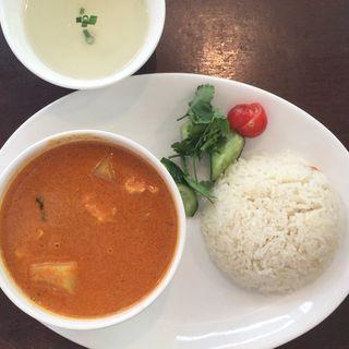 チキンカレー(海南鶏飯食堂2恵比寿店)