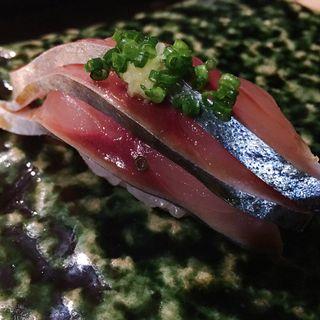 鯖(鮨しののめ)