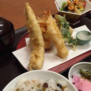 天ぷら盛り合わせ定食(かごの屋 五条七本松店 )
