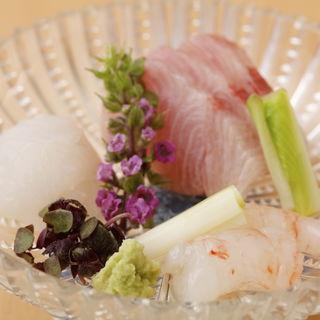 鮮魚の盛り合わせ(哲庵 (てつあん))