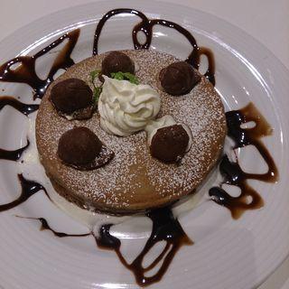 マロンショコラパンケーキ(Cafe ボローニャ 麹町ゴルフ倶楽部店 )
