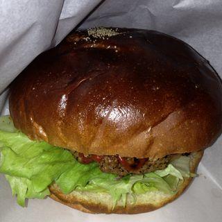 ハンバーガー(カフェ ランプ )