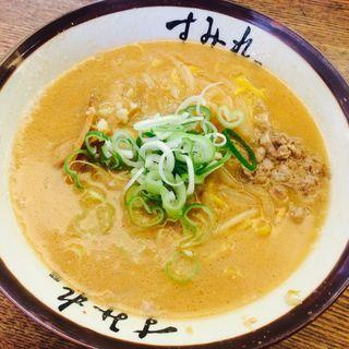 味噌らーめん(すみれ 札幌本店)