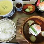 煮込みハンバーグ御膳(松阪牛肉亭 長太屋)
