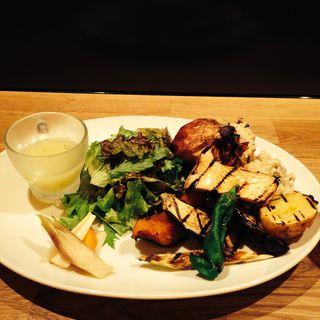 グリル野菜とクリームリゾット(N_7110 (エヌナナイチイチゼロ))