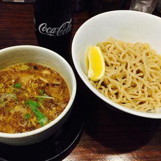 牛ホルモンのつけ麺(つけ麺 ちっちょ極(きわめ))