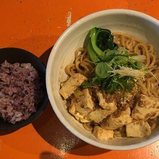 麻婆豆腐まぜそば(麺屋玉ぐすく )