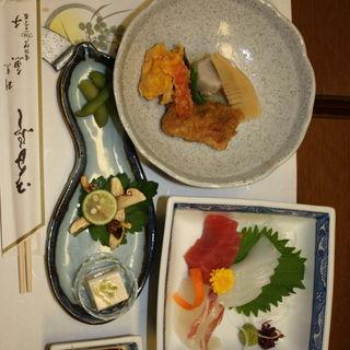 季節の会席料理 お造り・前菜(割烹 魚チ)