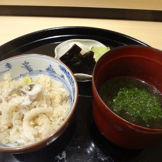 カマスの釜飯(神楽坂ささ木)