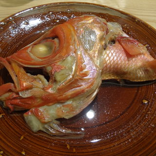 金目鯛の煮つけ(日本料理太月)