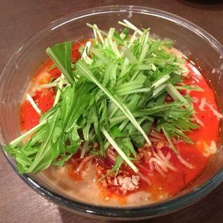 冷やし豆乳坦々麺(炎神)