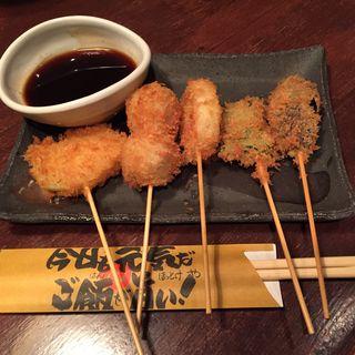 串カツ 野菜盛り(ほっとけや 西院店 )