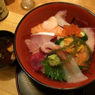 上海鮮丼(寿し まつもと )